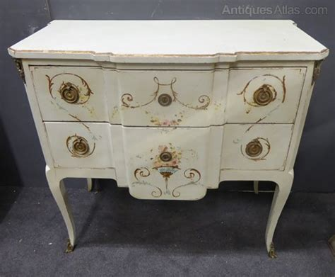 kitchen cabinets drawers italian painted two drawer cabinet antiques atlas 2978