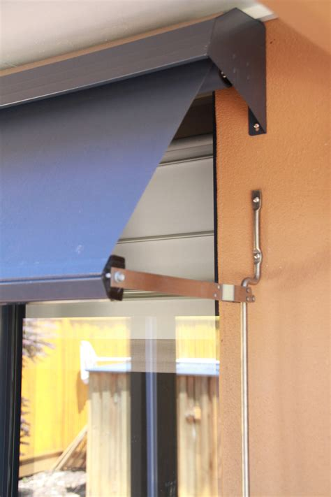 automatic lock arm awnings home point coolum blinds curtains awnings shutters  screens