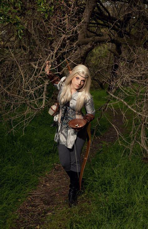 LARP costume - wood elf   Elf cosplay, Elf warrior