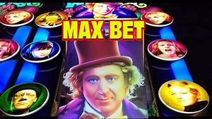 3-Reel Willy Wonka * MAX BET * Slot Machine BONUS ...