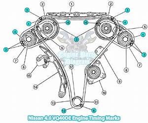 2005 Nissan Xterra Timing Marks Diagram  4 0 Vq40de Engine