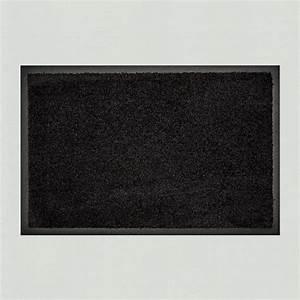 Fussmatte Für Aussenbereich : fu matte uni schwarz einfarbig waschbar kaufen verschiedene gr en mattenkiste ~ Markanthonyermac.com Haus und Dekorationen