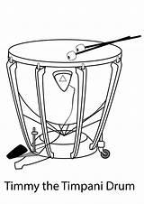 Coloring Drums Schlagzeug Trommel Ausmalbilder Drum Popular Printable sketch template