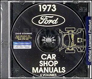 1973 Lincoln Shop Manual Cd Town Car Continental And Mark