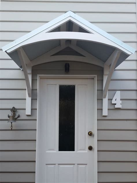 canopy window door awnings canopies arch australia smart decorative timber lyrebird awning wide curved front melbourne outdoor kits windows doors