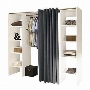 Tringle Pour Dressing : dressing penderie pas cher ~ Premium-room.com Idées de Décoration