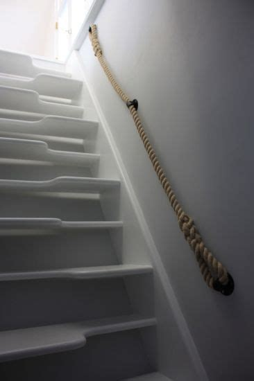 Treppe Handlauf Seil by Blacksmith Stairs Rope Banister Handrail