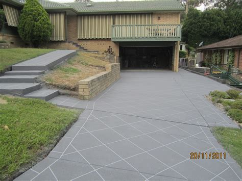 Concrete Resurfacing   Before & After Photos   Wizcrete