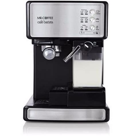 Cafetera Mr Coffee Cafe Barista Capuchino Latte Expresso   $ 5,999.00 en Mercado Libre