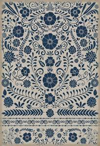 four brand vintage vinyl floor cloths now available pura vida home decor