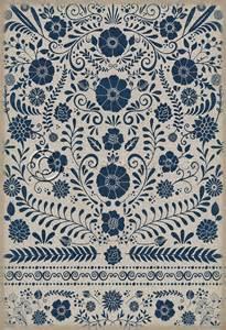 four brand vintage vinyl floor cloths now available pura vida home decor