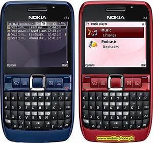 Nokia E63 Mobile Pictures