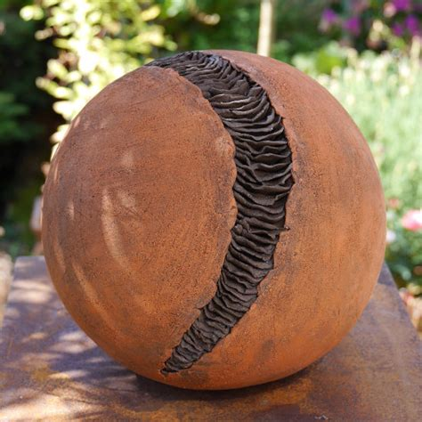 Dekokugeln Für Den Garten  Keramik Kunst Blog