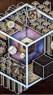 Tesseract : woodworking