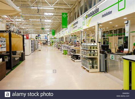 Interior Leroy Merlin Retail Chain Store, Diy Products