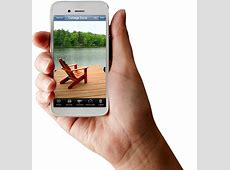 Smartphone in hand PNG image