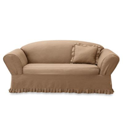 Sofa Arm Covers Bed Bath And Beyond by Buy Sofa Loveseat Slipcovers From Bed Bath Beyond