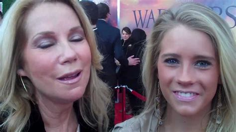 kathie lee and cassidy gifford at the war horse world