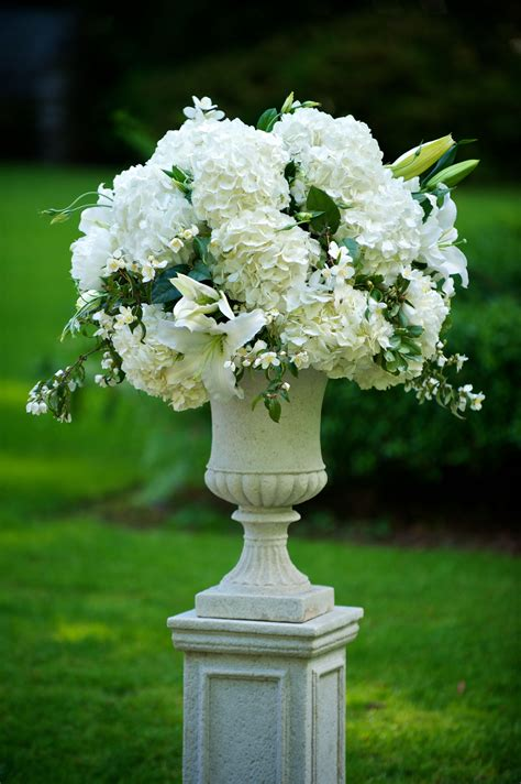 ceremony flowers  tiffany blue wedding wedding