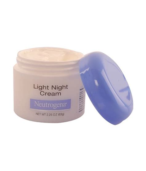 neutrogena light night cream neutrogena products online price 60 off face wash