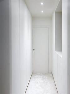 Dressing Sans Porte : dressing blanc sur mesure sans poign es avec syst me d ~ Dode.kayakingforconservation.com Idées de Décoration