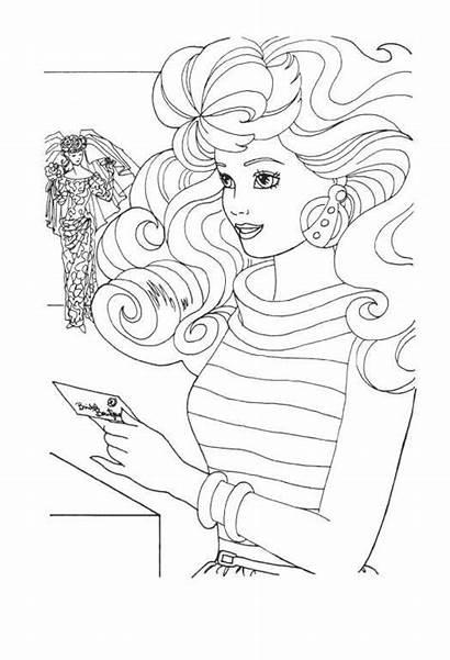Barbie Kleurplaten Ausmalbilder Colorare Malvorlagen Kleurplaat Dibujos