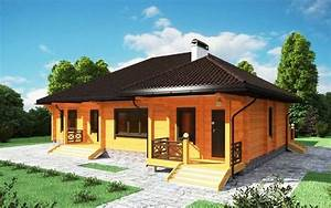 maison en bois lamelle colle superficie 290 m2 With surface d une maison 5 deuxiame projet id remo