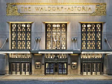 deco hotel nyc waldorf astoria new york