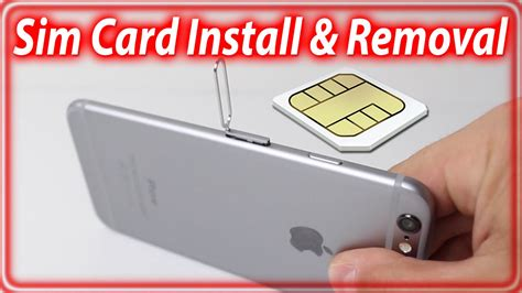 how to insert sim card in iphone 5 how to get a iphone 6 sim card out howsto co
