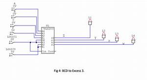 Bcd To Excess 3 Code Converter Digital Logic Circuit