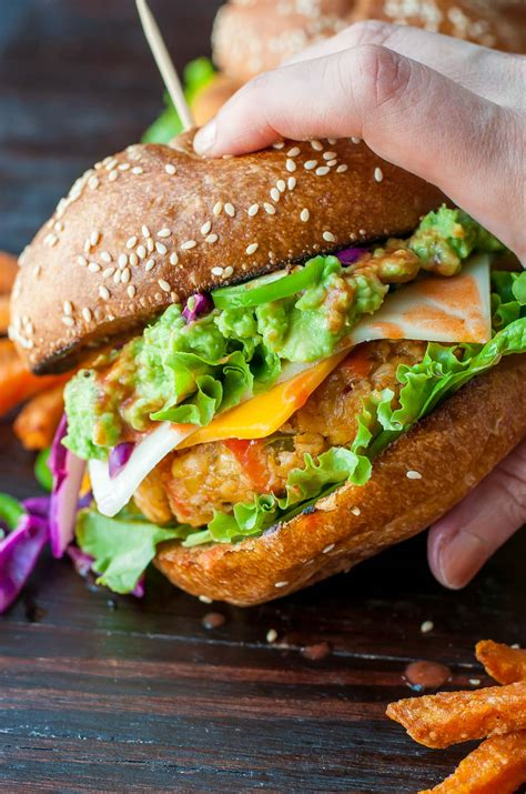 best veggie burger recipe buffalo chickpea veggie burgers peas and crayons