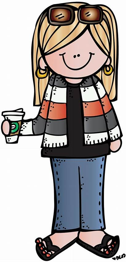Melon Head Melonheadz Stacy Clip Classroom Coffee
