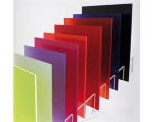 Colored Plexiglass Windows