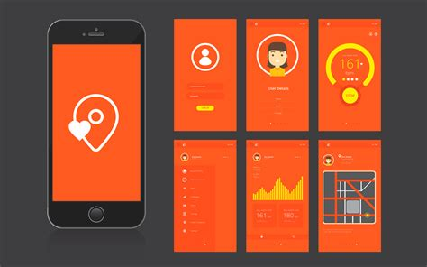 Mobile Application by Mobile App Ui Interface And Gui Free Vector