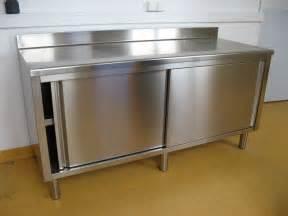 meuble cuisine en inox mobilier meubles rangement de cuisine inox dsee17 webencheres com