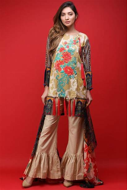 Lawn Dresses Summer Latest Warda Embroidered Printed