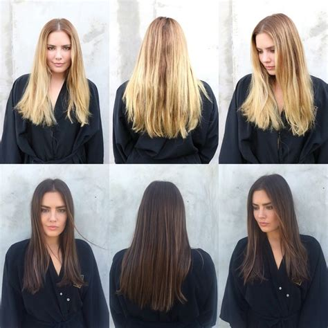 Before And After To Brown Hair by 278 Best Haircuts And Color Before And After Images On