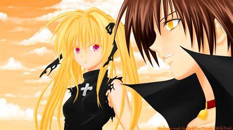Anime Wallpaper Black Cat Gonzo Eve Train Heartnet Short