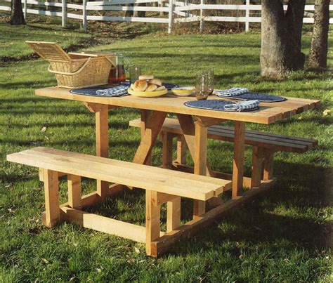 unique picnic table design   furniture