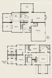 two story home floor plans two story house plans