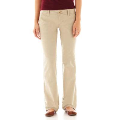arizona schoolgirl bootcut pants juniors jcpenney