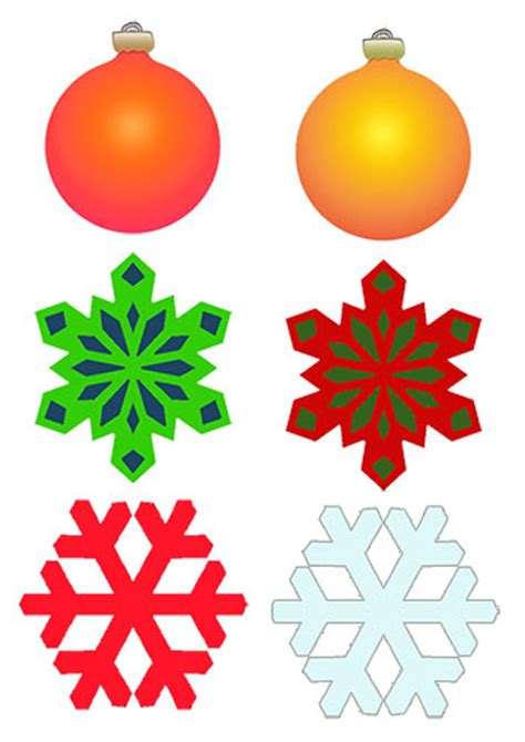 printable christmas cutouts and decorations make decorations tree farm