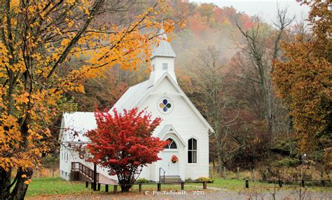 Old Country Church Photograph By Carolyn Postelwait