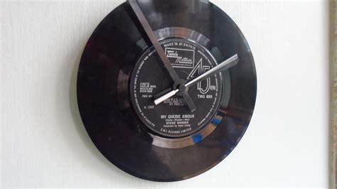 vinyl record clock     vinyl record clock