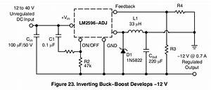 Lm2596 Buck Converter Circuit Diagram