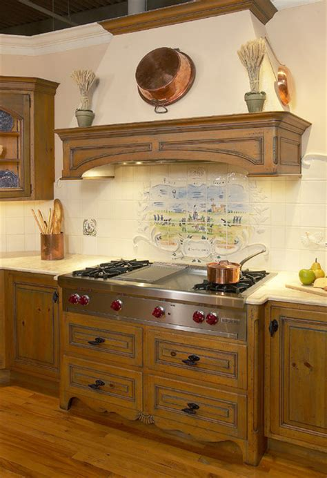 wall kitchen cabinets custom antique pine mantel traditional kitchen new 3667