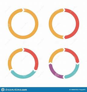 Vector Circle Arrows Infographic  Vector Business Template