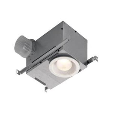 bathroom exhaust fan with light home depot broan humidity sensing recessed 70 cfm ceiling exhaust