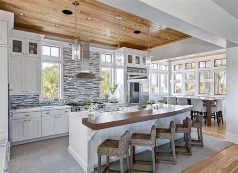 cuisine rectangulaire 45 idées en photos pour bien choisir un îlot de cuisine