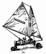 Matador Sailing Carriage Drawing Construction Sets Land Getdrawings Yacht sketch template